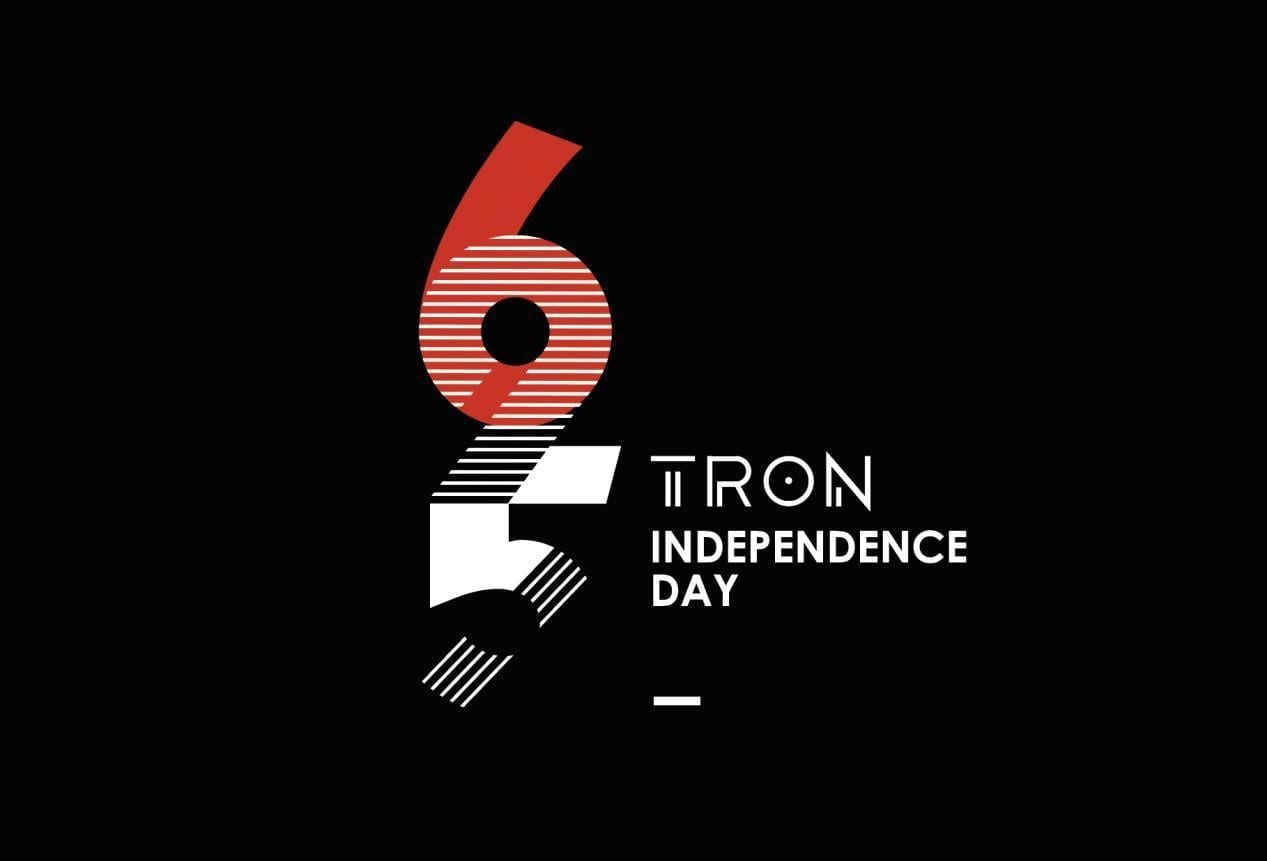 TRON Mainnet Launch Independence Day