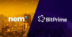 NEM XEM partnership with BitPrime