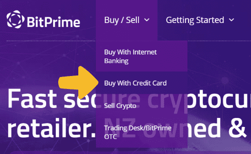 buy crypto with credit card from bitprime