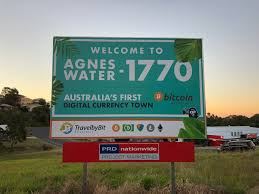 Agnes Water 1770 Crypto Town TravelbyBit