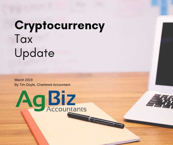 Cryptocurrency Tax Update March 2019