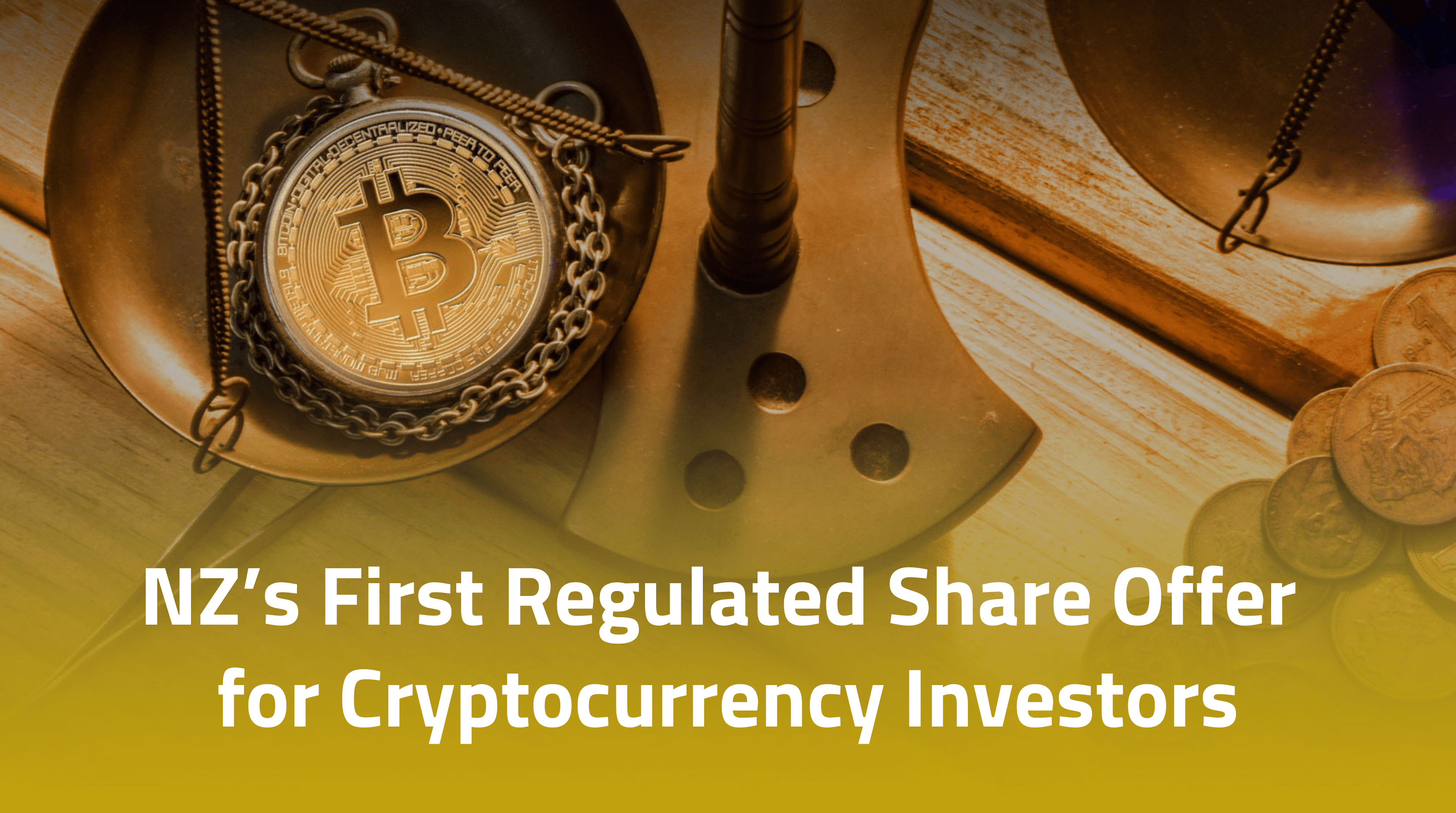 Regulated Share Offer for Cryptocurrencies