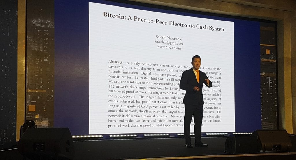 Jimmy Nguyen at CoinGeek Seoul