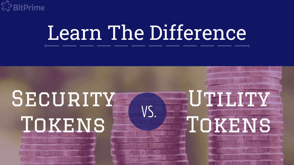 security tokens vs utility tokens