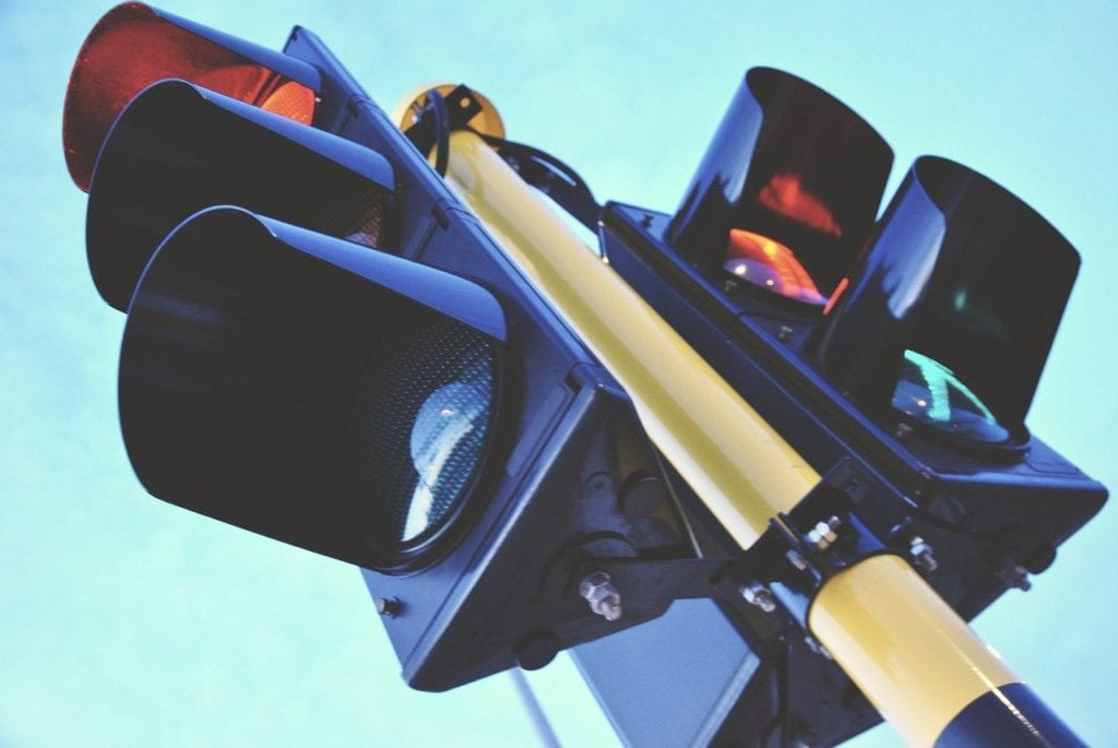 Photo of traffic lights